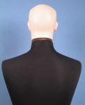 4158 manichino sartoriale uomo testa capelli scolpiti