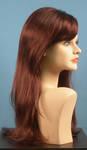 4560 parrucca capelli lunghi lisci sintetici