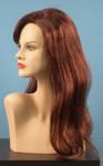 4561 parrucca sintetica capelli lunghi lisci