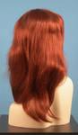 4564 parrucca sintetica folta rossa lunga