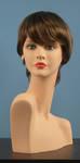 4580 parrucca donna taglio corto abbigliamento
