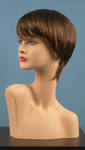 4581 parrucca castana donna negozio manichini