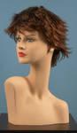 4599 parrucca capelli corti sintetica manichini vetrine