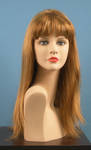 4609 parrucca bionda sintetica liscia lunga manichini
