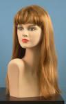 4610 parrucca capelli lunghi lisci biondi frangetta