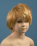 4618 parrucca manichino moda bionda bambino