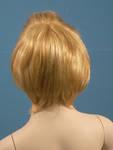 4619 parrucca sintetica manichino bambino liscio biondo