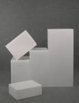 4774 composizione cubi parallelepipedi diverse dimensioni vetrine allestimenti
