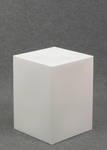 4783 parallelepipedo bianco latte polifunzione seduta espositore