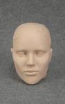 4802 testa portaocchiali portacappelli portacapelli foulard donna scolpita