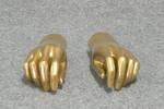 4815 coppia mani oro espositore