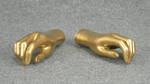 4816 coppia mani oro donna esposizione allestimenti
