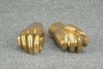 4818 mani donna oro portaoggetti esposizione scenografie teatrali