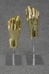 4827 mani oro donna portaoggetti basi regolabili