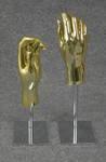 4828 mani basi regolabili espositore vetrine fiere musei