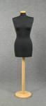 4870 manichino donna sartoria spillabile tappo base legno