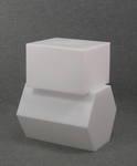 4877 elemento arredo esagono cubo espositore vetrine arredamento
