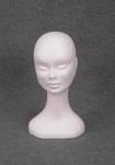 4906 testa polistirolo donna portaparrucca capelli cappelli esposizione