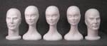 4990 teste polistirolo uomo donna classiche espositori supporto parrucche cappelli