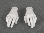 5129 mani donna bianche esposizione manichini