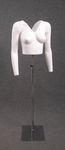 5252 bustino donna taglio v maniche lunghe braccia ghost mannequin foto