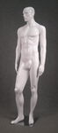5410 manichino uomo stilizzato volto scolpito laccato lucido bianco orion