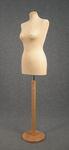 5466 busto sartoriale spillabile cucito confezione abiti base circolare liscia chiara