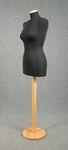 5474 manichino donna sartoriale nero cucito confezione abiti base tonda