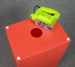 6067 cubo lampada arancione luminoso faidate diy foro luce