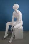 658 manichino stilizzato donna laccato lucido