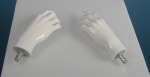 712 laccato lucido manichino donna mani