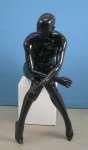 748 donna laccato lucido manichino stilizzato