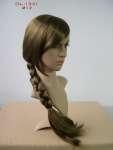 815 testa realistica make up donna parrucca treccia