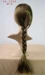 816 treccia donna parrucca testa