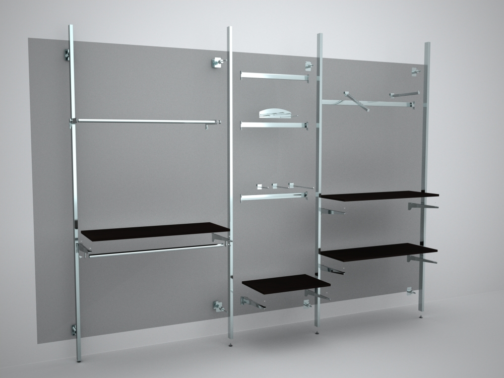 Mensole Per Cabina Armadio : Centromanichini art.012 ar500ch