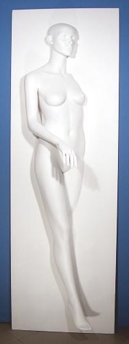 001 FANTASMA C - Pannello C raffigurante un corpo femminile inserito in un muro