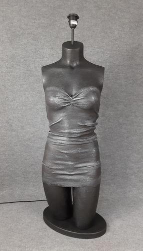 001 LAMPADA CORPO DONNA BUSTO 11BST - Lampada busto a forma di donna
