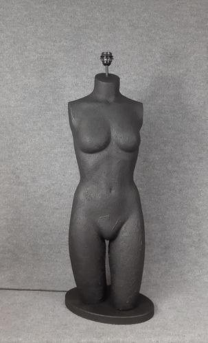 001 LAMPADA CORPO DONNA BUSTO 1BST - Lampada busto a forma di donna