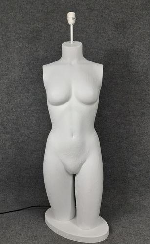 001 LAMPADA CORPO DONNA BUSTO 9BST - Lampada busto a forma di donna
