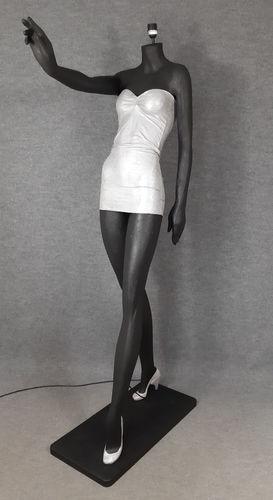 001 LAMPADA CORPO DONNA LADY 2M - Lampada a forma di donna