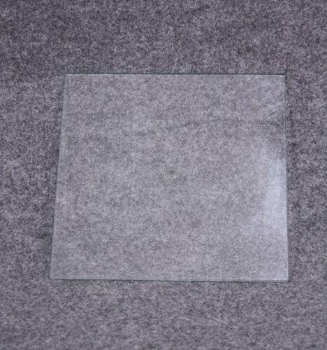 011 BASE VETRO 2323 - Base in vetro temperato per manichini