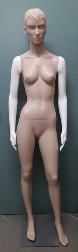 011 BRENDA ASSEMBLATA - Manichino usato assemblato in plastica donna
