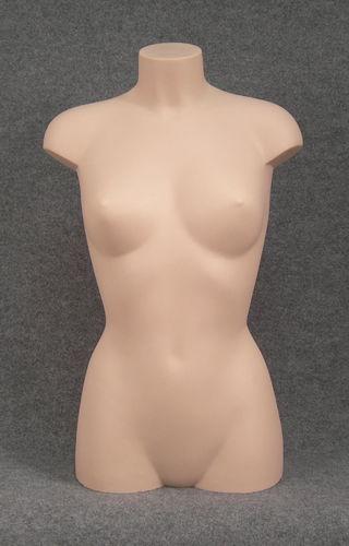 011 BUSTO D TW17 PC - Busto twist donna in plastica pelle chiara