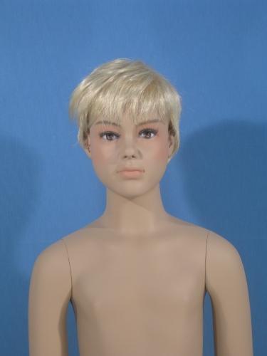011 BW G52 4Y - Parrucca per manichino bambino