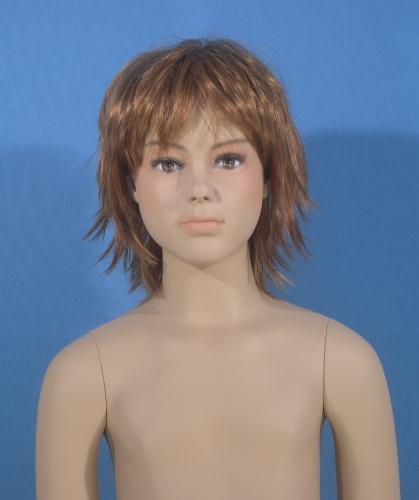 011 BW G56 10Y - Parrucca per manichino bambino o bambina