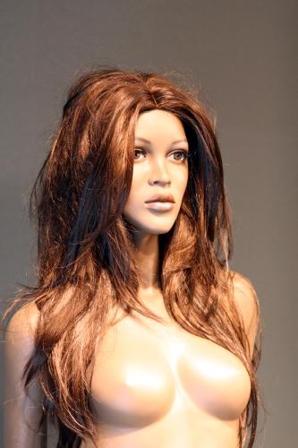 011 FW024 - Parrucca per manichino da donna.