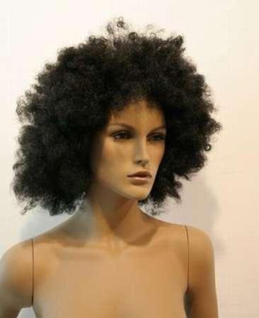 011 FW AFRO - Parrucca per manichino da donna.