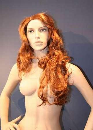 011 FW GENOVA - Parrucca per manichino da donna.