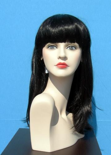 011 FW OLBIA - Parrucca per manichino da donna.