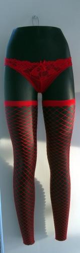 011 GAMBE TDDG - Display per pantalone da donna da appendere alla parete gambe diritte